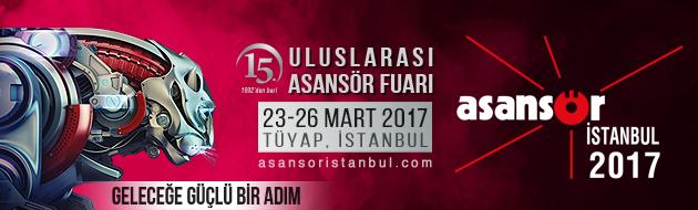 Asansör İstanbul, 15. Uluslararası Asansör Fuarı