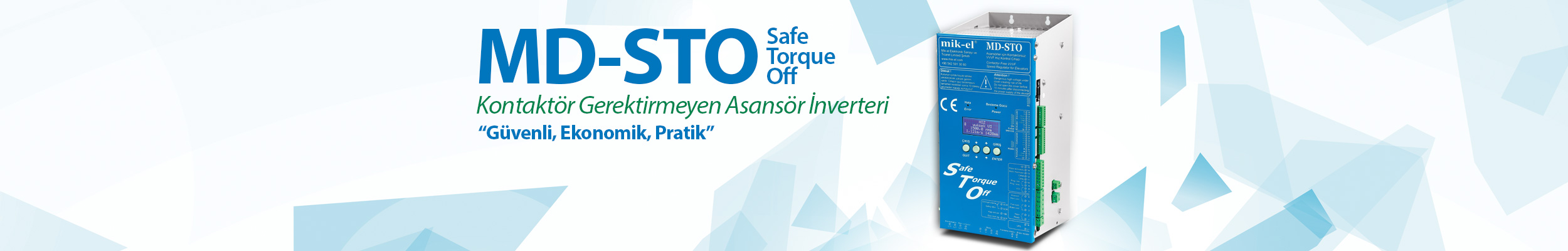 MD-STO (Safe Torque Off) Satışa Çıkıyor